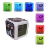 LED óra, szublimálható fém lapokkal