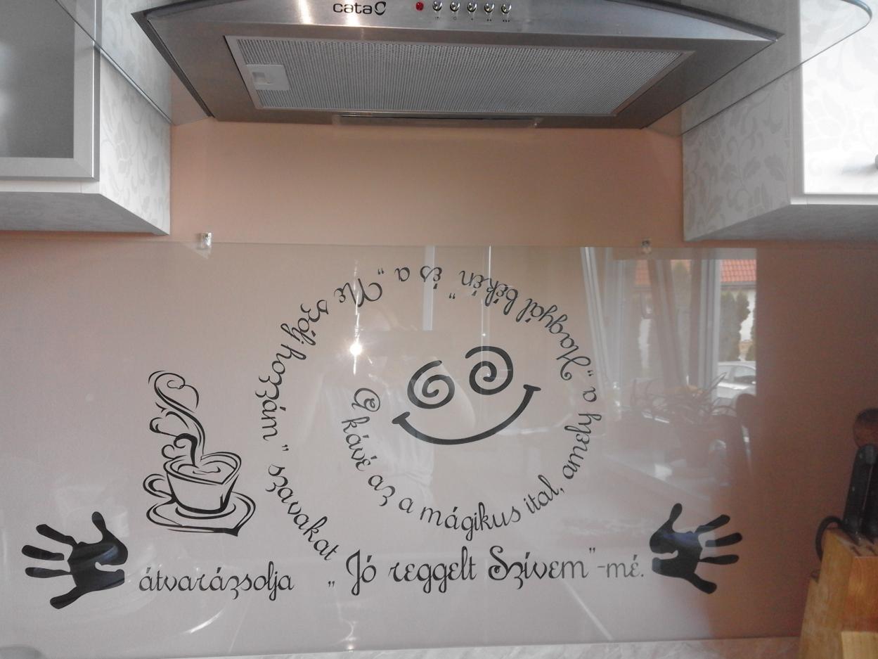 Idézet konyhába is