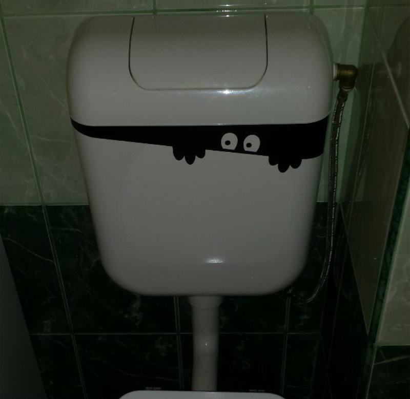 Kukucska wc tartályra